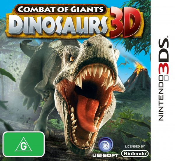 Combat of Giants: Dinosaurs 3D Cover Artwork