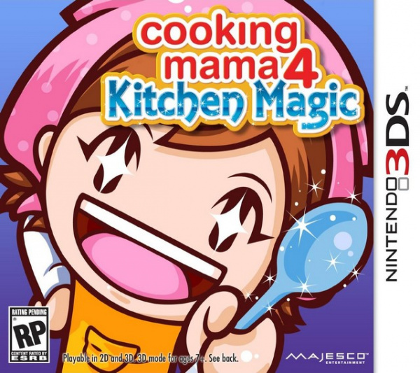 Cooking Mama 4: Kitchen Magic Cover Artwork