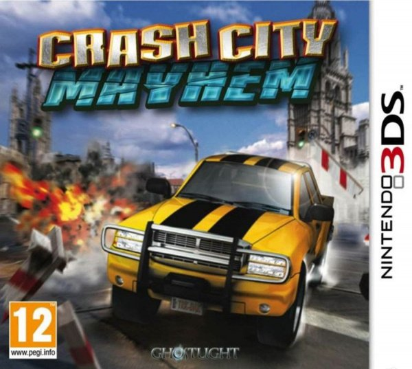 Crash City Mayhem Cover Artwork