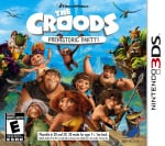 The Croods: Prehistoric Party! Cover (Click to enlarge)