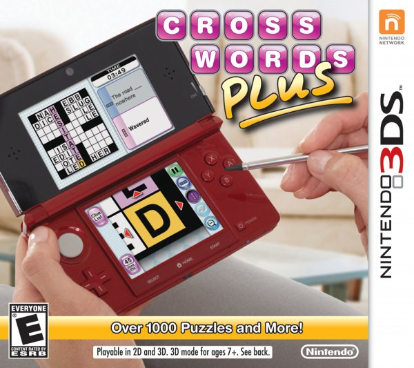 Crosswords Plus Cover Artwork