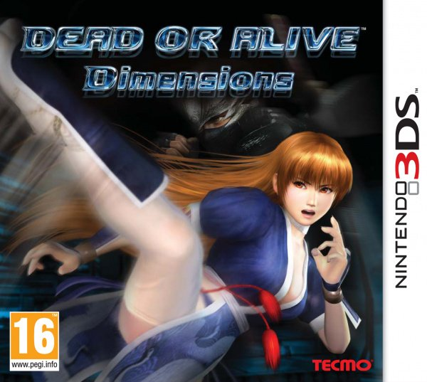 Dead or Alive: Dimensions Cover Artwork