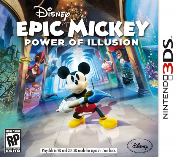 Disney Epic Mickey: Power of Illusion Cover Artwork