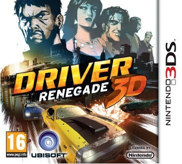 Driver: Renegade 3D Cover Artwork