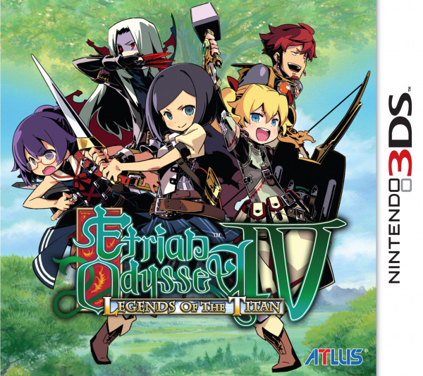 Etrian Odyssey IV: Legends of the Titan Cover Artwork