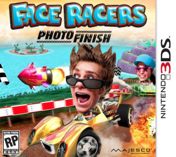 Face Racers: Photo Finish Cover Artwork