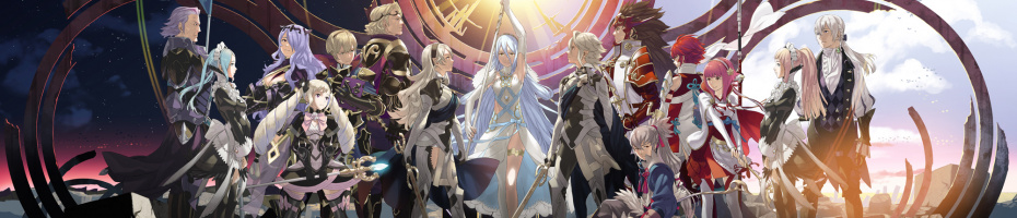 Fire Emblem Fates - 19th February (North America) and TBC 2016 (Europe)