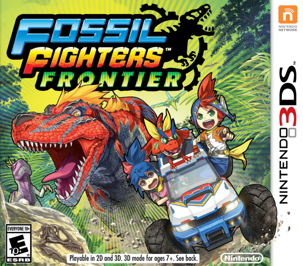 Fossil Fighters ds Fossil Fighters Frontier