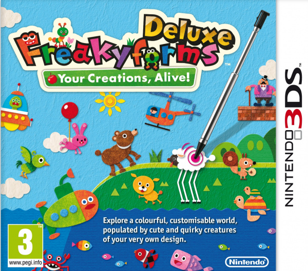 Freakyforms Deluxe: Your Creations, Alive! Cover Artwork