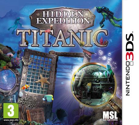 Hidden Expedition: Titanic Review (3DS eShop / 3DS