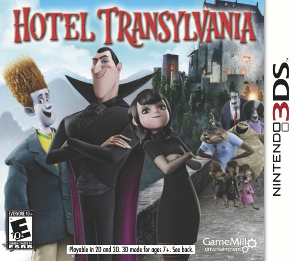 Hotel Transylvania Cover Artwork