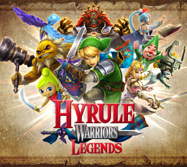Warriors Come Out And Play Download: Hyrule Warriors Legends Cover (Click To Enlarge