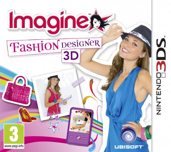 Imagine Fashion Designer Cover Artwork