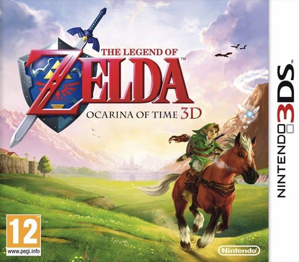 The Legend of Zelda: Ocarina of Time 3D Cover Artwork
