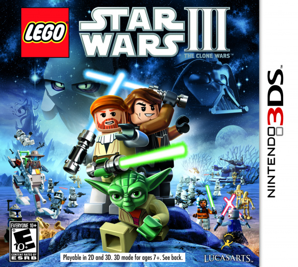 LEGO Star Wars III: The Clone Wars Cover Artwork
