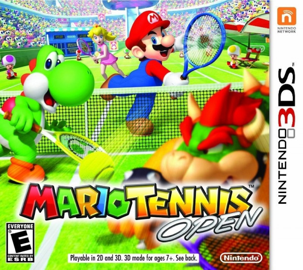 Mario Tennis Open Cover Artwork