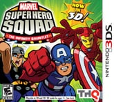 Marvel Super Hero Squad: The Infinity Gauntlet Cover Artwork