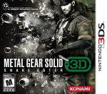 Metal Gear Solid: Snake Eater 3D Cover (Click to enlarge)