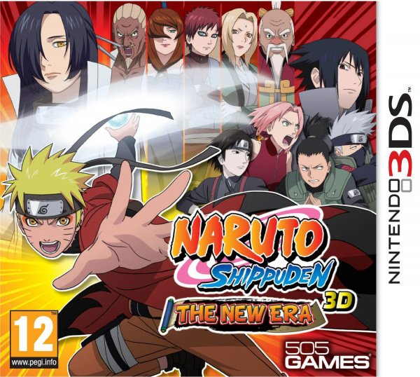 Naruto Shippuden 3D: The New Era Cover Artwork