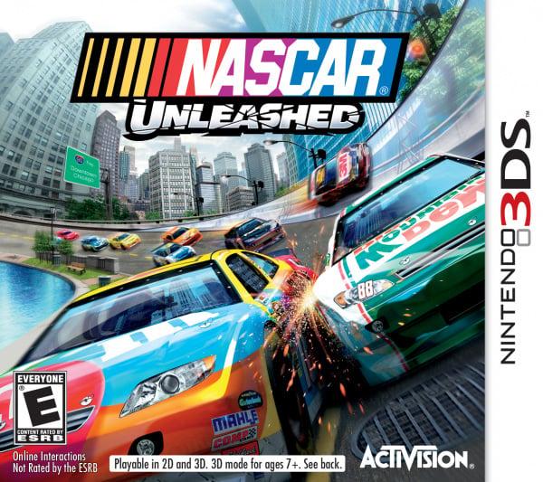 NASCAR Unleashed Cover Artwork