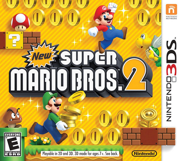 New Super Mario Bros. 2 Cover Artwork