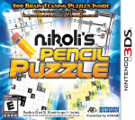 Nikoli's Pencil Puzzle Cover (Click to enlarge)