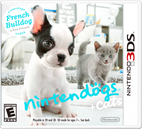 Nintendogs + Cats Cover Artwork