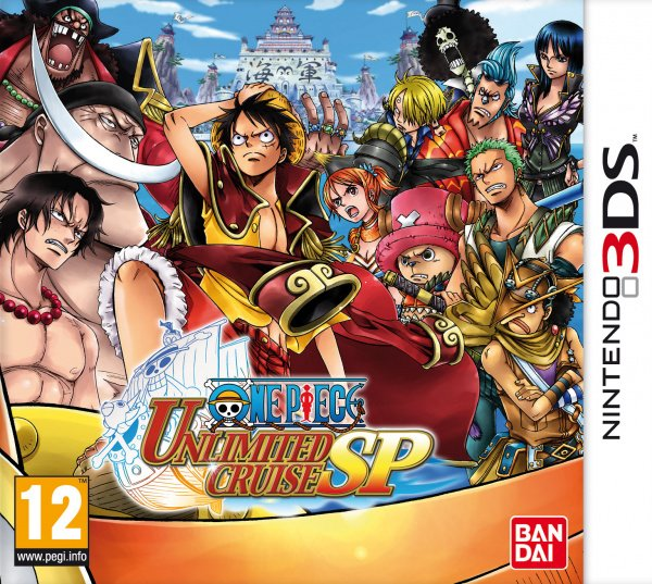 One Piece Unlimited Cruise SP Cover Artwork