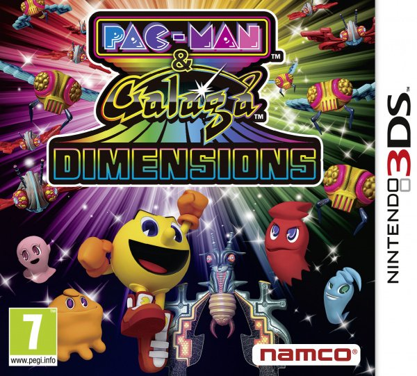 Pac-Man & Galaga Dimensions Cover Artwork