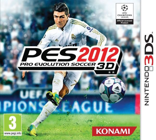 PES 2012 3D Cover Artwork