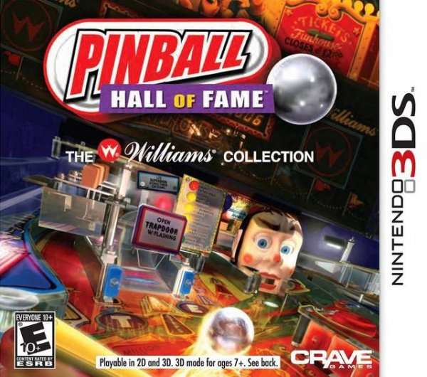 Pinball Hall of Fame: The Williams Collection Cover Artwork