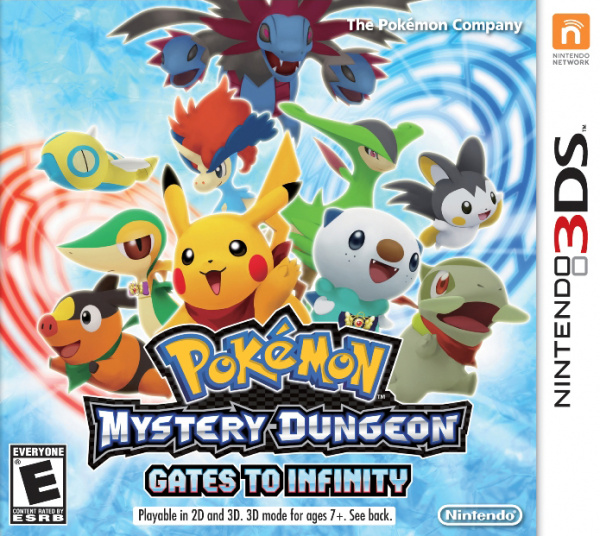 Pokémon Mystery Dungeon: Gates to Infinity Cover Artwork