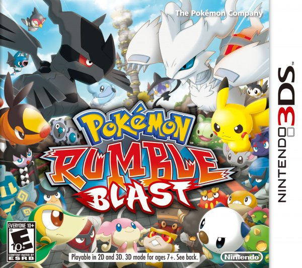 Pokémon Rumble Blast Cover Artwork