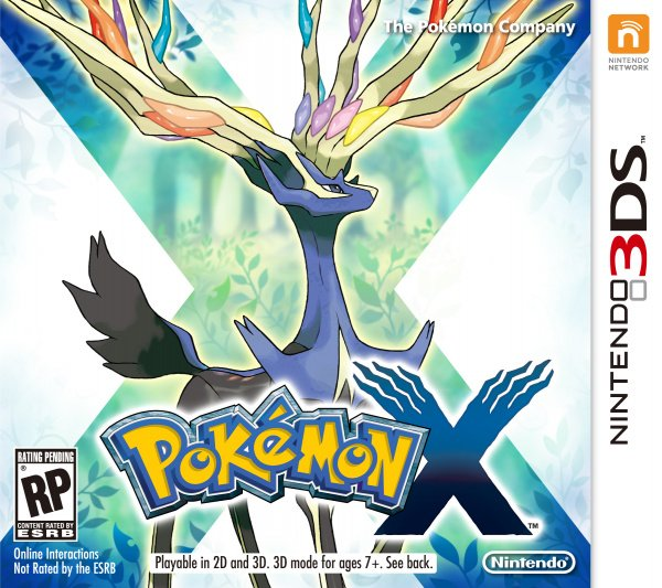 Pokémon X & Y Cover Artwork