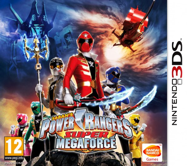 power rangers super megaforce is morphin 39 its way to 3ds this fall nintendo life. Black Bedroom Furniture Sets. Home Design Ideas