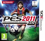 Pro Evolution Soccer 2011 3D Cover (Click to enlarge)