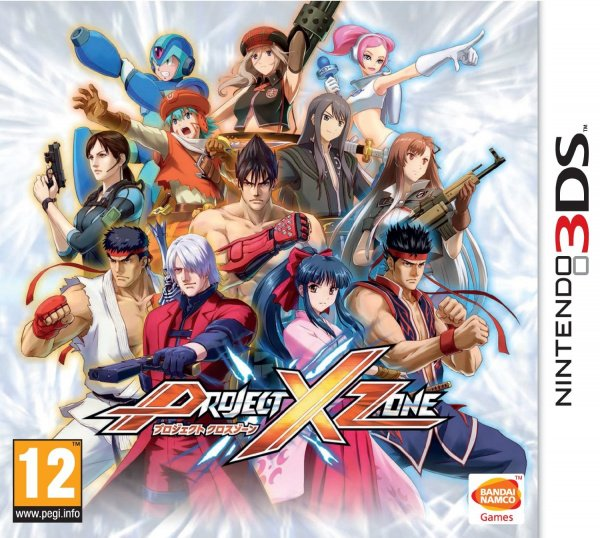Project X Zone Cover Artwork