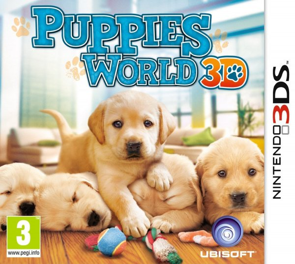 Puppies World 3D Cover Artwork