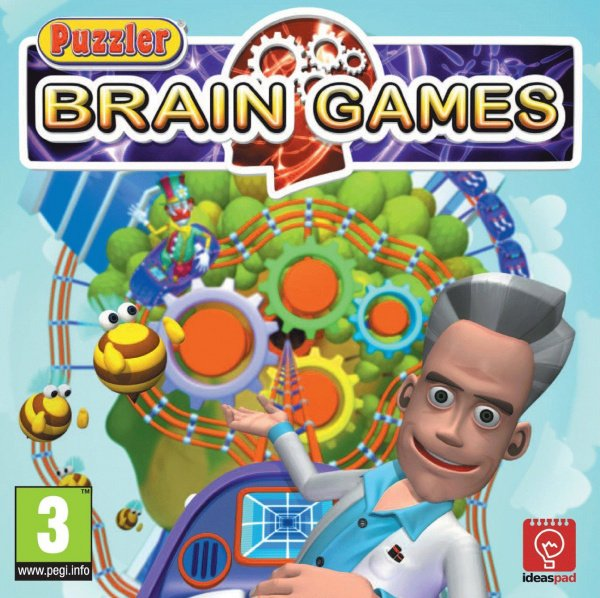 Puzzler Brain Games Cover Artwork