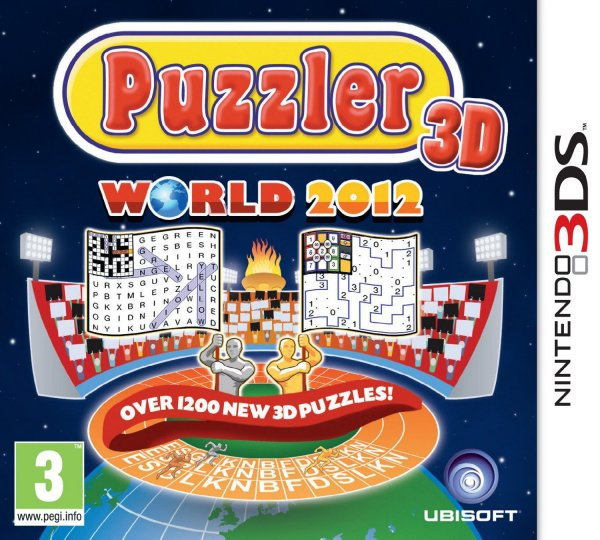 Puzzler World 2012 3D Cover Artwork