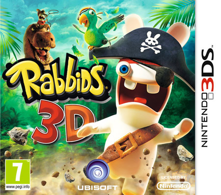 Rabbids 3D Cover Artwork