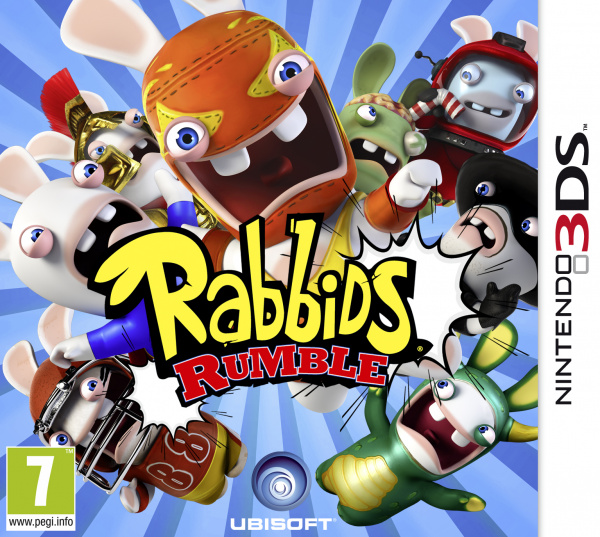 Rabbids Rumble Cover Artwork