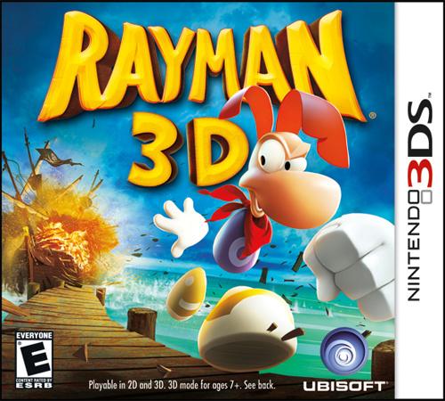 Rayman 3D Cover Artwork