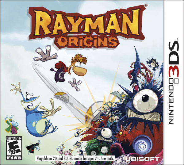 Rayman Origins Cover Artwork