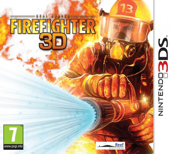 Real Heroes Firefighter 3D Cover Artwork