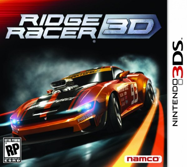 Ridge Racer 3D Cover Artwork
