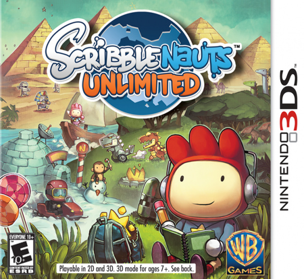 Scribblenauts Unlimited Cover Artwork