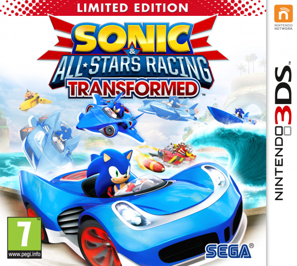 Sonic & All-Stars Racing Transformed Cover Artwork