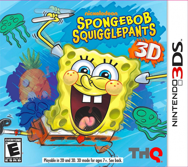 SpongeBob SquigglePants 3D Cover Artwork