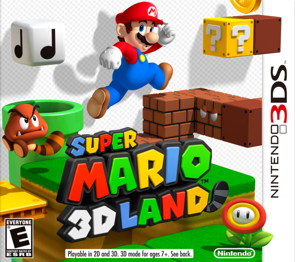Super Mario 3D Land Cover Artwork